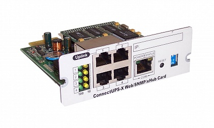Карта ConnectUPS-X WEB/SNMP/XHUB card